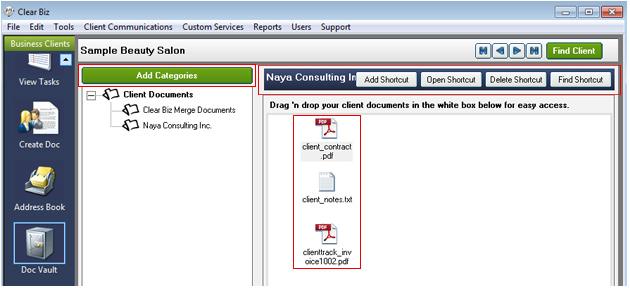 Document Vault Screenshot