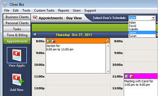 Appointments Screenshot