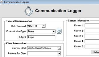 Communication Logger Screenshot