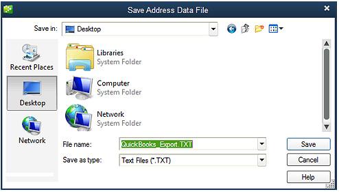 Export QuickBooks Desktop Screenshot (Step 3)